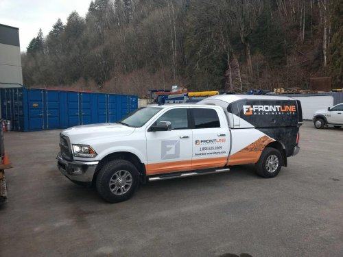 small resolution of thanks to jpattisonlease frontlineequip is adding this new service truck to their fleet