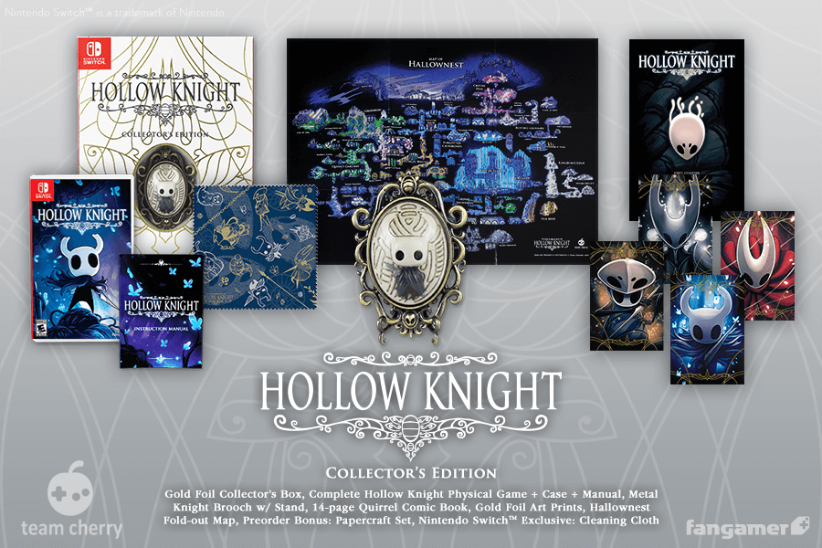edition of hollow knight