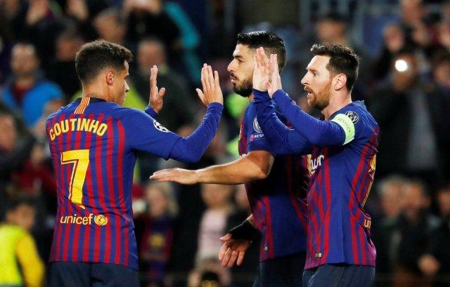 برشلونة يسحق ليون ويتأهل لربع نهائي دوري أبطال أوروبا 27