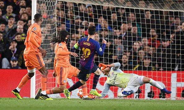 برشلونة يسحق ليون ويتأهل لربع نهائي دوري أبطال أوروبا 25