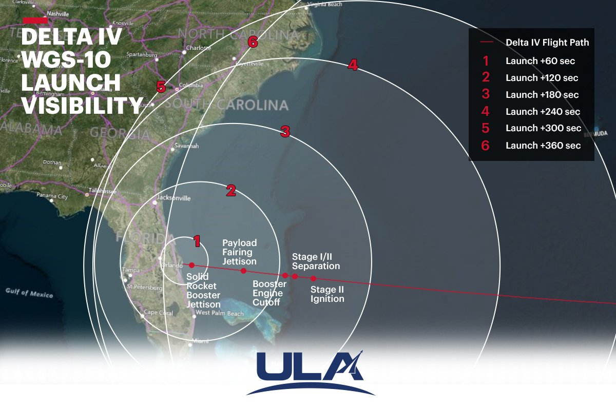 hight resolution of this visibility chart will show you when and where your best chances are to see the rocket launch is scheduled for tomorrow friday 3 15 at 6 56 p m