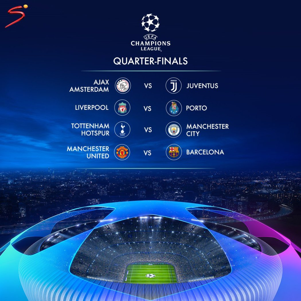 D1slMJAXgAAenoe - Champions League Draw In Full