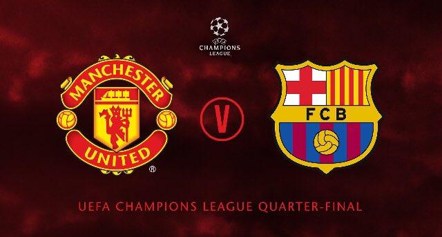 D1slNIuXgAAeQuh - Uproar As Manchester United Draw Barcelona In Quarter Final