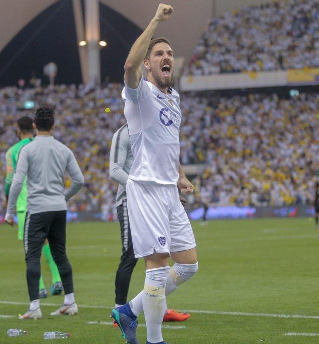 النصر يحسم الديربي امام الهلال في الدوري السعودي 26