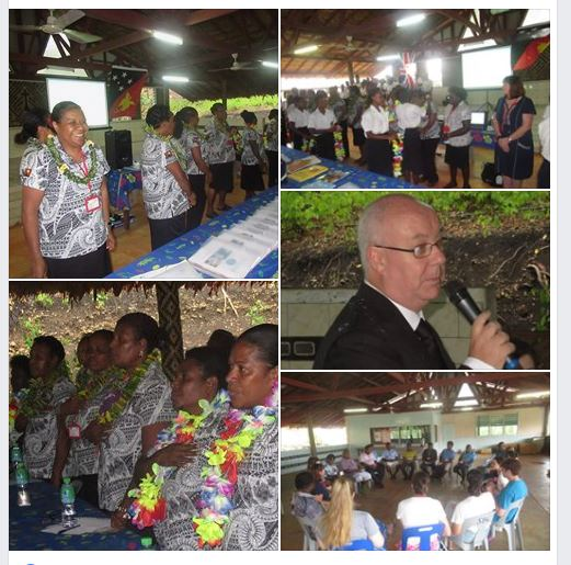Human Right workshops run by our UK teachers for ACoM schools & PNG school leaders funded by the British High Commission 2019 has started.…