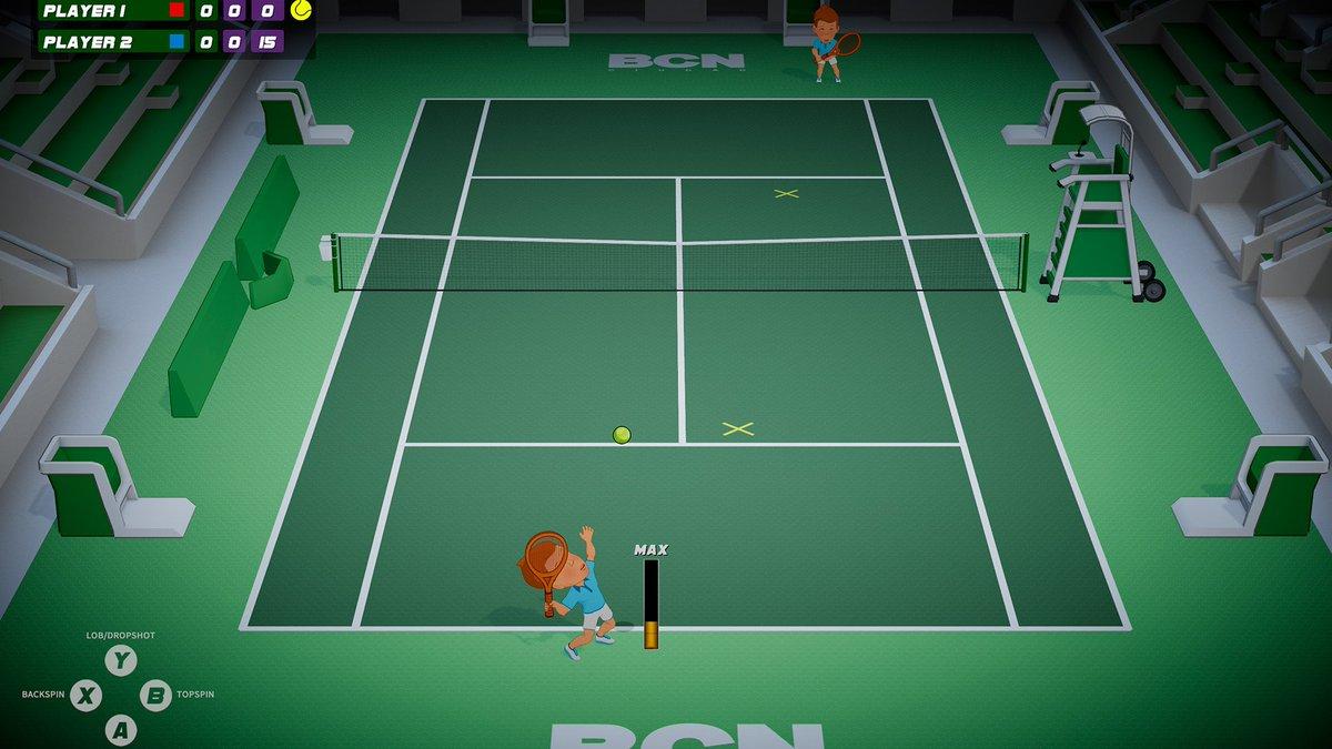 test ツイッターメディア - テニヌ…ではなく、テニスゲーム。 自分のアバターを作成したら、キャリアモードでウィンブルドン、全豪オープン、全米オープンなど、主要トーナメントに参加。 テニス界の伝説となれ! ローカルマルチプレイにも対応。  From @steam_games: Steam:Super Tennis Blast https://t.co/LwiSOXRzb4 https://t.co/8GJ1kMBqCv