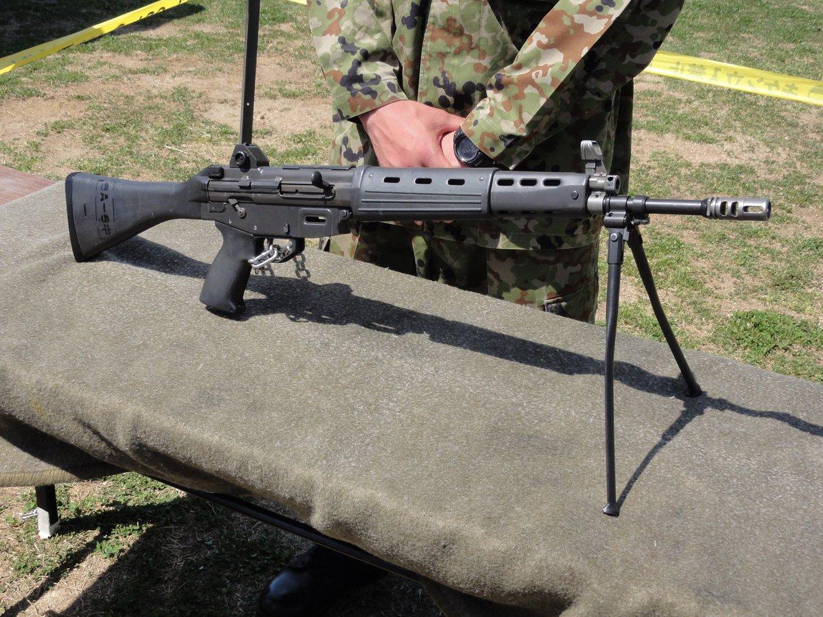 test ツイッターメディア - «89式小銃»国産兵器の1つ。5.56mm弾使用。つよそう(小並感)写真は陸上自衛隊のイベントにて。 https://t.co/ALijQtFvcI https://t.co/kgxIl7QZ8P