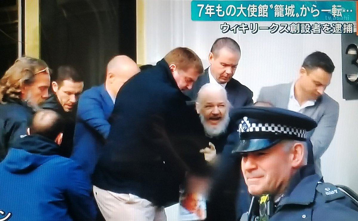 test ツイッターメディア - 今日逮捕されたウィキリークスの創設者、あの見た目で47歳って嘘でしょ?#ウィキリークス https://t.co/lS4IjLknRk