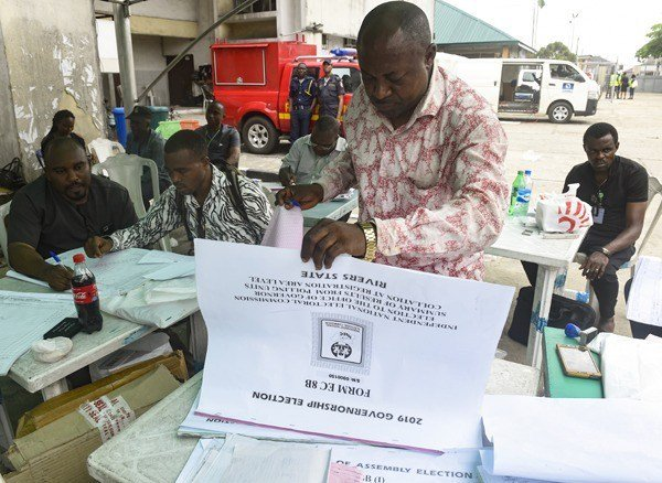 D3Ka9vpUEAAPPUe - RiversDecides: INEC Postpone Collation Till Tomorrow(See Result Declared)