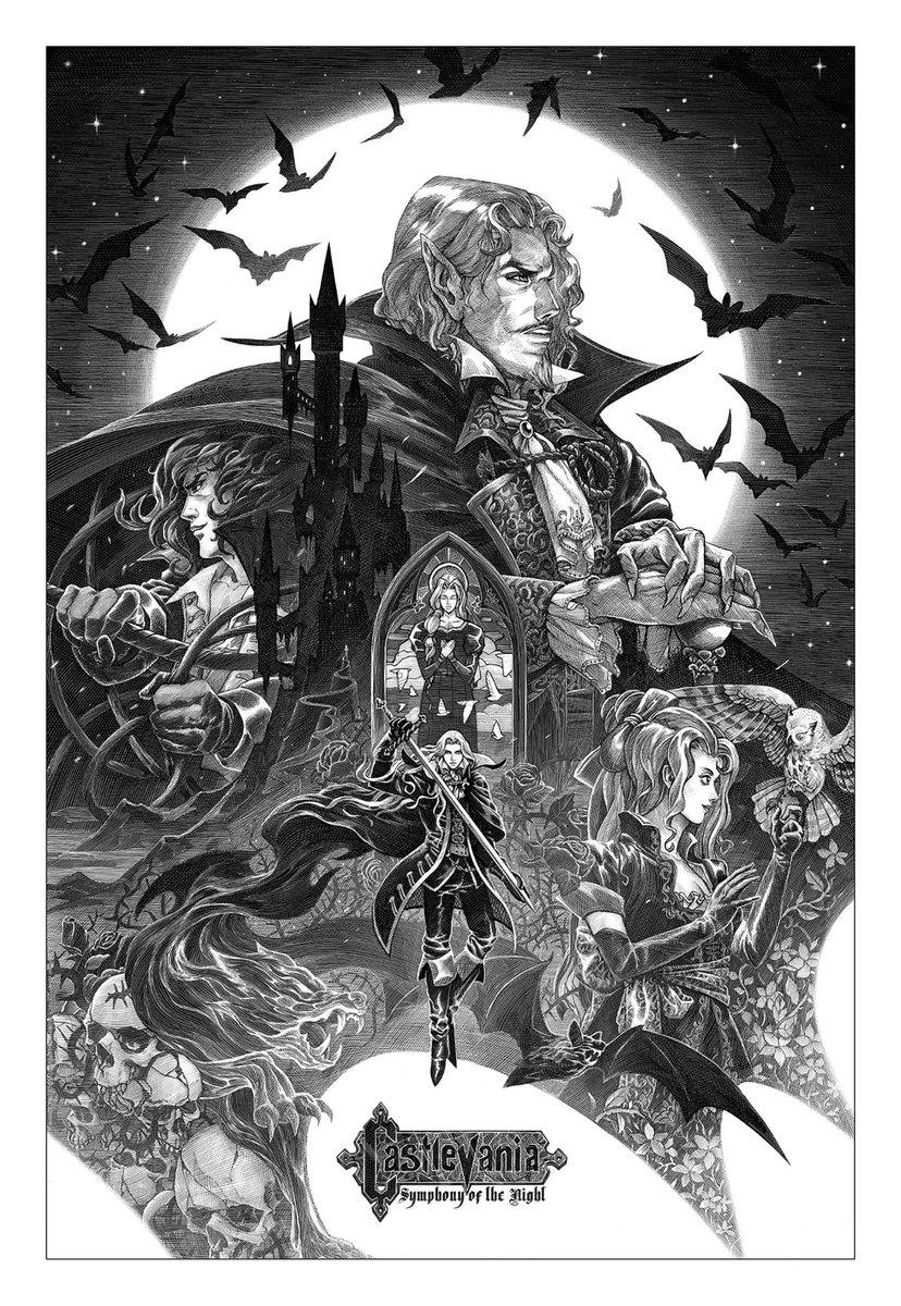 Castlevania: Symphony Of The Night : castlevania:, symphony, night, Konami, Twitter:,