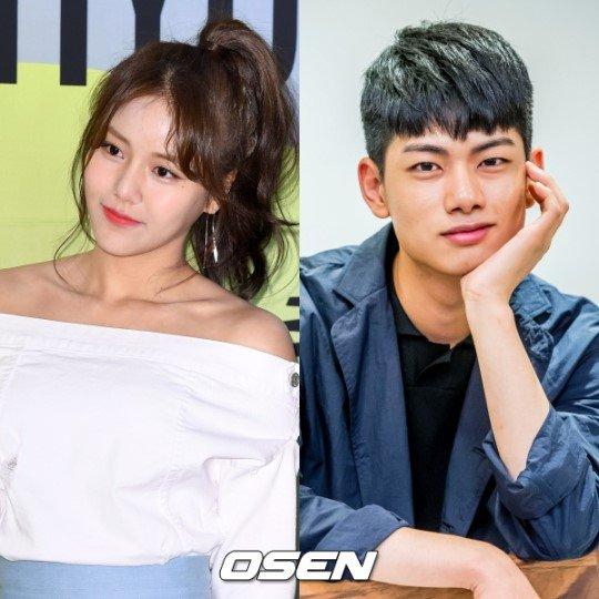 Hyejeong 'AOA' & Ryu Euihyun