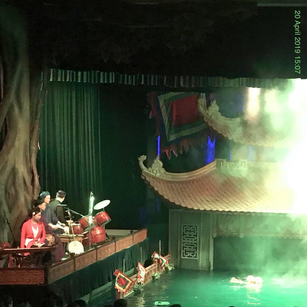 Water Puppet Theatre, music, dance, & firewroks