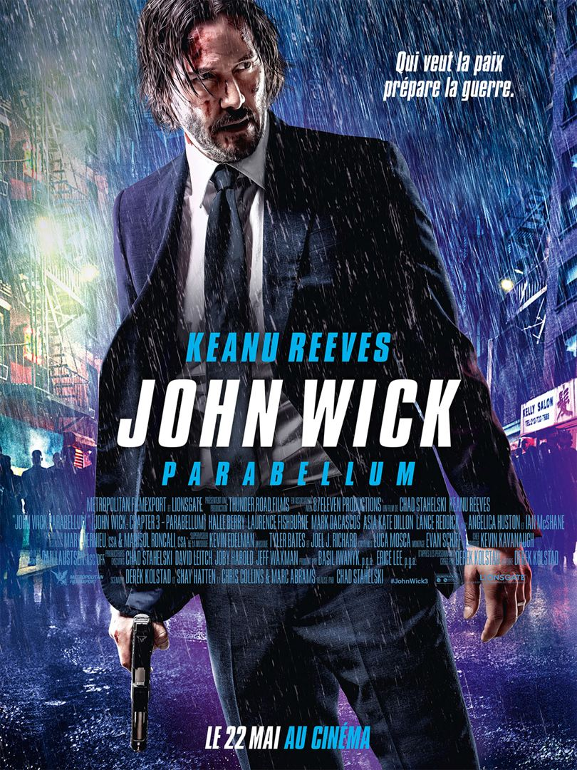 John Wick 3 Streaming French : streaming, french, Twitter:, French, Movie, Poster, Wick:, Chapter, Parabellum, Https://t.co/dOkz0I86g9…