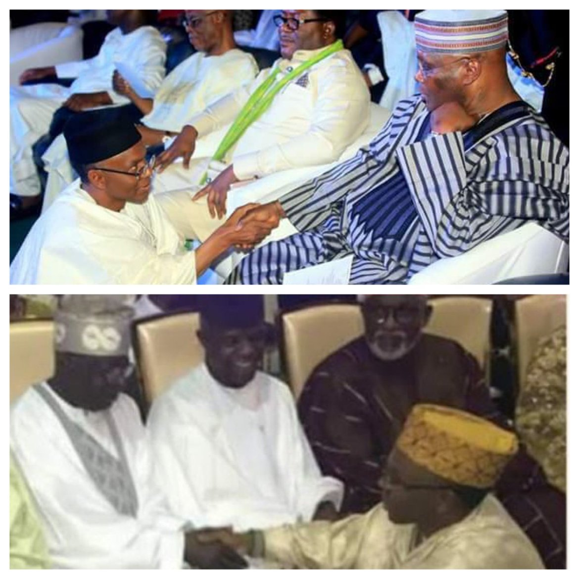 D5 i NVW0AA1RBc - [Photos]: Two People El-Rufai Has Knelt Down For When He Needed Them And Insulted Them After