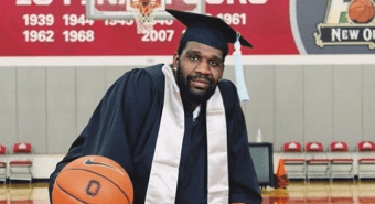 Greg Oden's Graduation Gown Was Made For 6-Footer