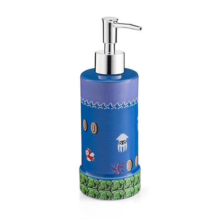 nintendo super mario soap dispenser