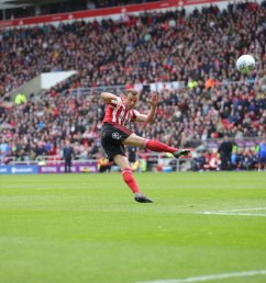 sunderland afc on twitter 45 safc 1 1 pompey five minutes of stoppage time have been signalled ha way the lads safc  [ 1200 x 800 Pixel ]