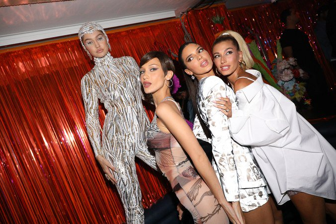 At midnight, the Met Gala's finest let it hang all out.