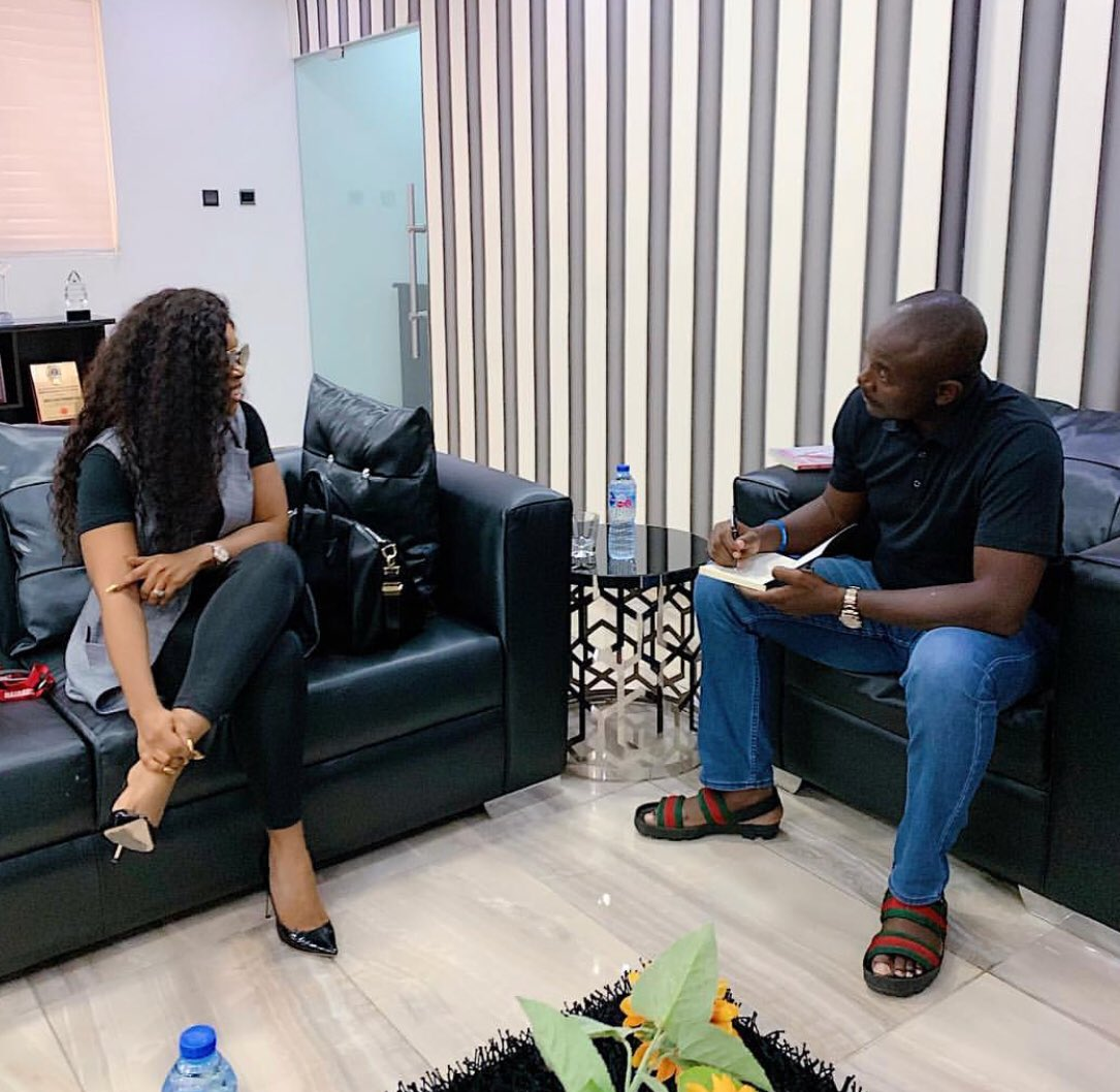 D5lPcccWAAMVe1y - Photos: Nairabet Owner, Akin Alabi, Spotted With Laura Ikeji