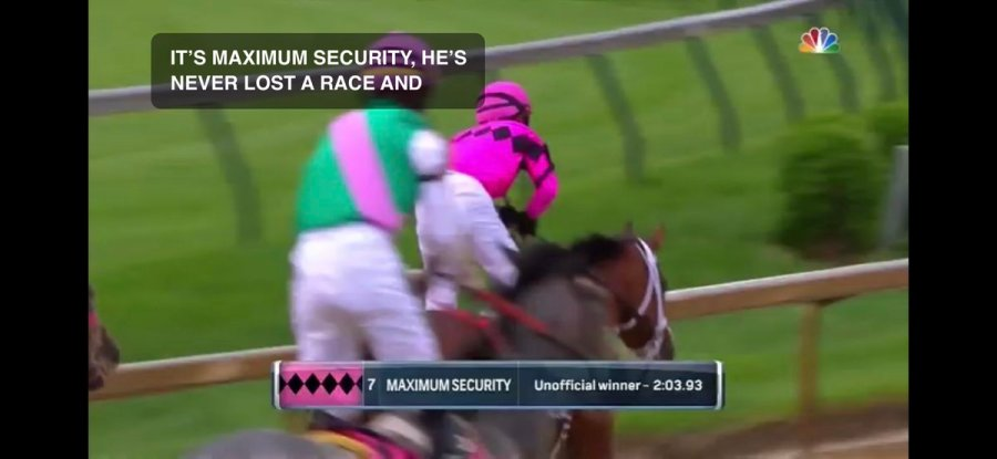 test Twitter Media - Maximum Security wins the Kentucky Derby! #kyderby https://t.co/XrHpXvj4kq