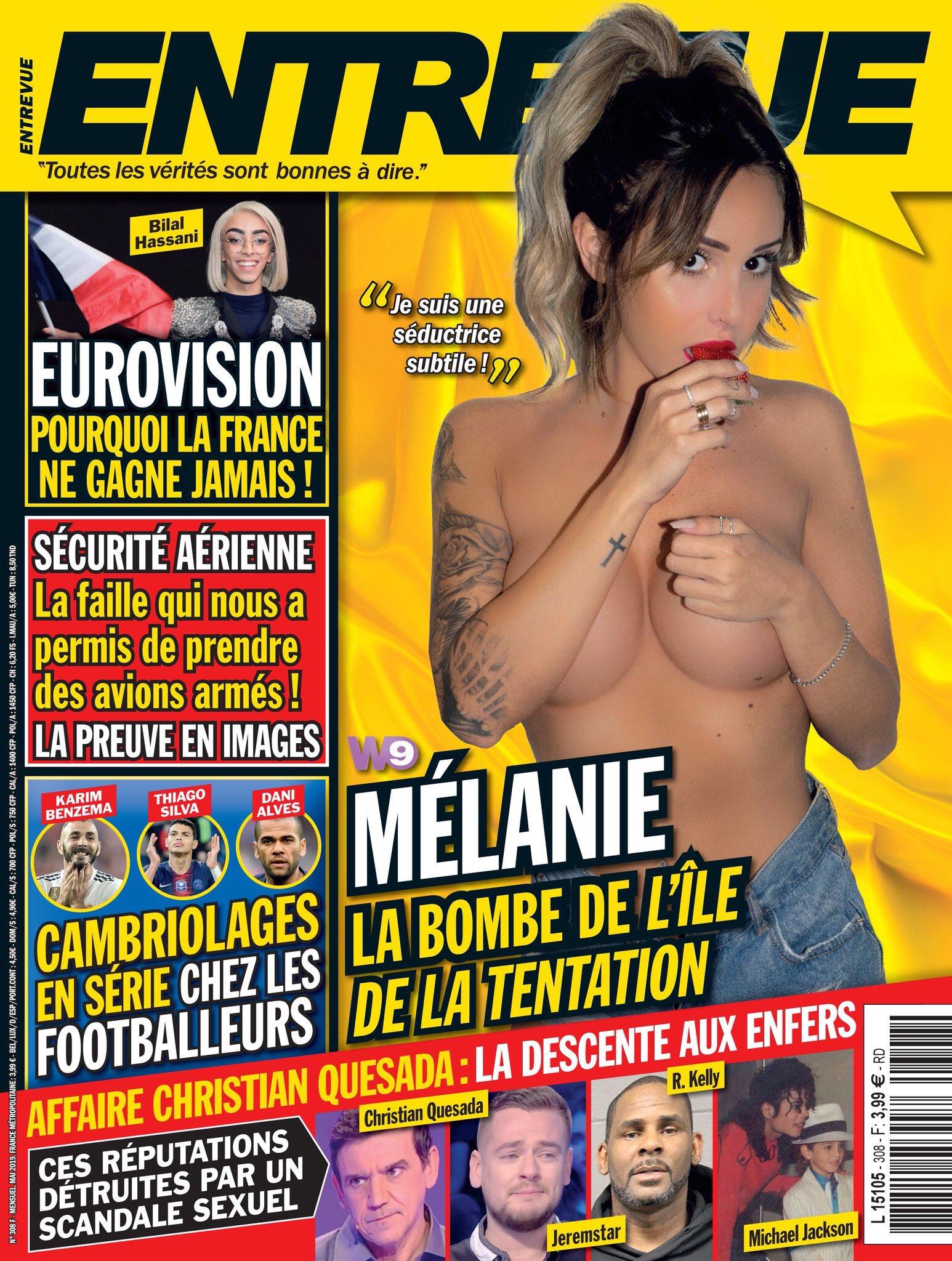 Melanie L'ile De La Tentation : melanie, l'ile, tentation, Rédac, D'Entrevue, Twitter:,