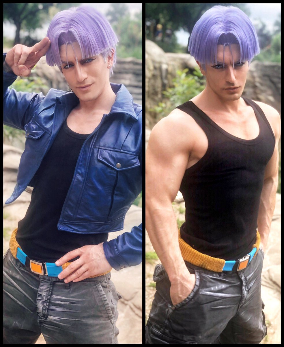 Trunks Hairstyle : trunks, hairstyle, Chiro, Twitter:,