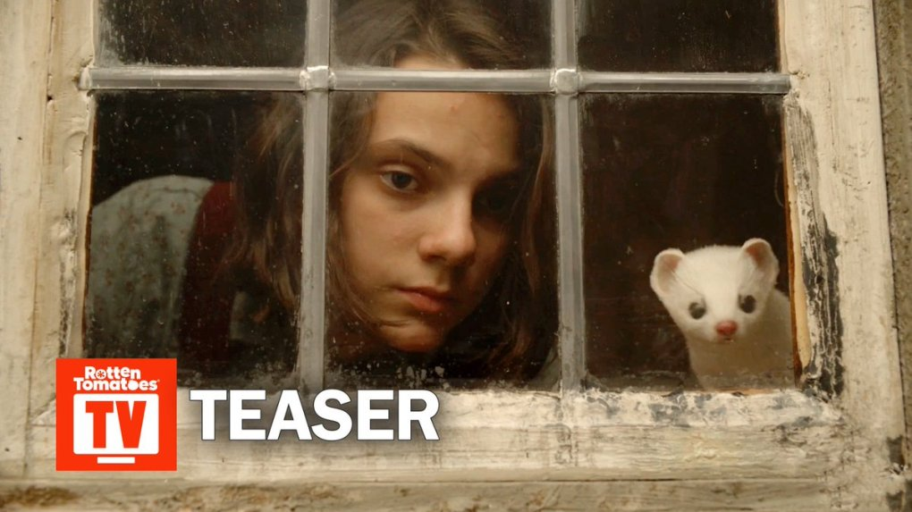 Image for the Tweet beginning: First teaser for HBO's #HisDarkMaterials