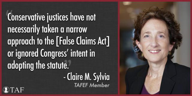 Image for the Tweet beginning: TAFEF Member Claire Sylvia was
