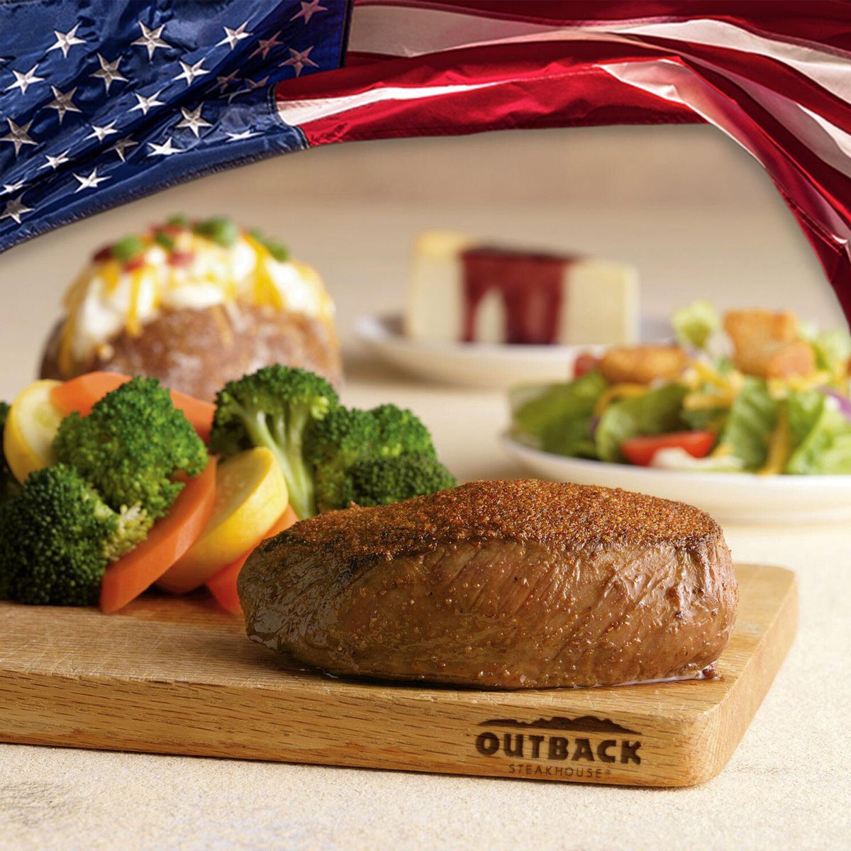 outback steakhouse on twitter