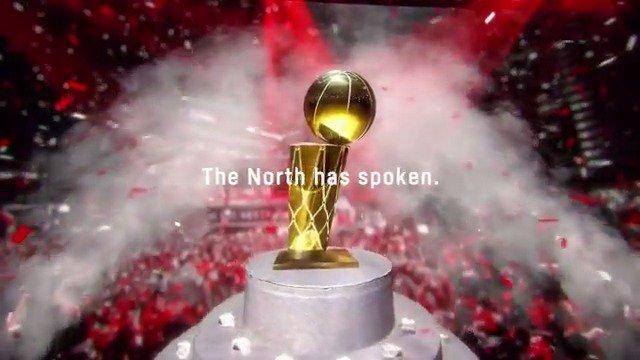 RT @Raptors The North Has Spoken. #WeTheNorth