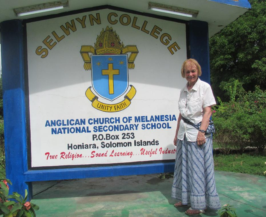 Canon Jane Brooke from @ChesterDiocese has visited Selwyn College & the headquarters of Melanesian Brotherhood, Community of the Sisters of Melanesia & the Society of St Francis. Last Sunday Canon Jane lead the services at TNK, HQ of the Community of the Sisters of the Church.