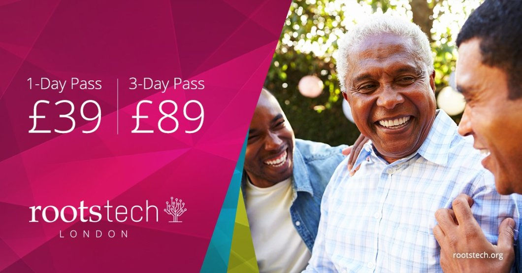 Don't miss this opportunity to save on full all-inclusive registration to RootsTech London.
