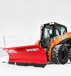 learn more https www bossplow com en products heavy equipment skid steer straight blade snow plow pic twitter com e2vvoeawmu [ 1200 x 800 Pixel ]