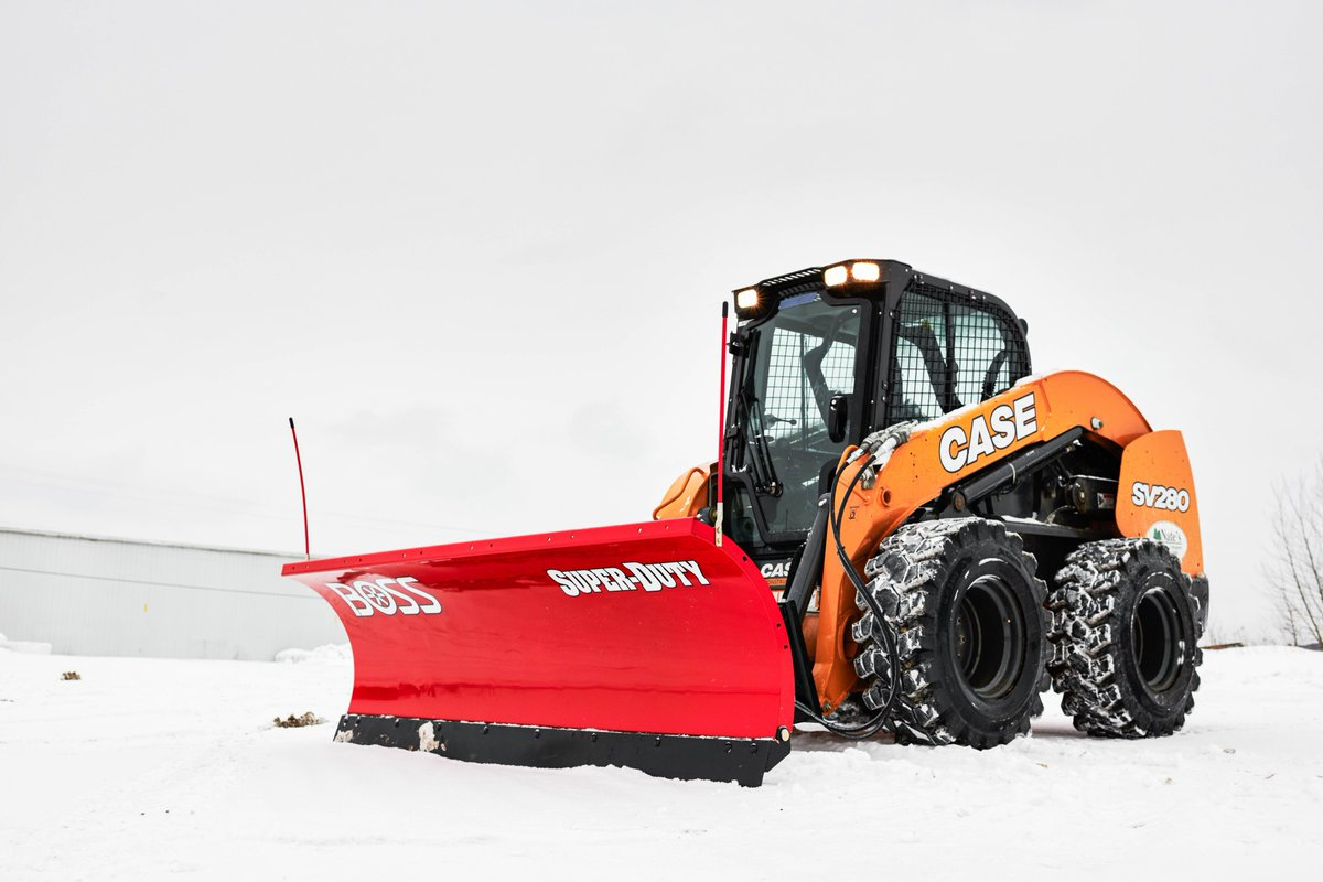 hight resolution of learn more https www bossplow com en products heavy equipment skid steer straight blade snow plow pic twitter com e2vvoeawmu
