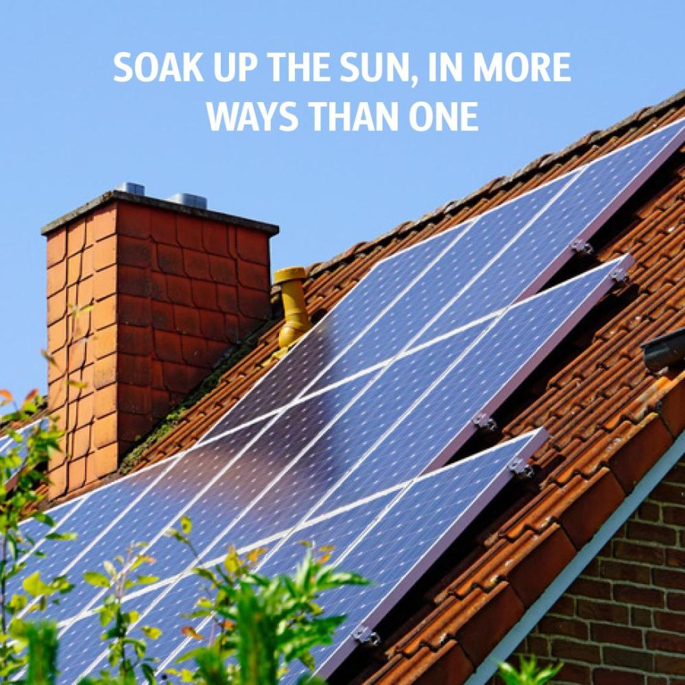 medium resolution of this summer you can turn every heatwave into money saved by installing solar panels in your