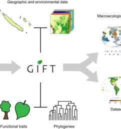 thrilled to see the paper by weigelt p chr koenig biogeokreft describing gift database going online jbiogeography comprehensive information about  [ 1200 x 690 Pixel ]