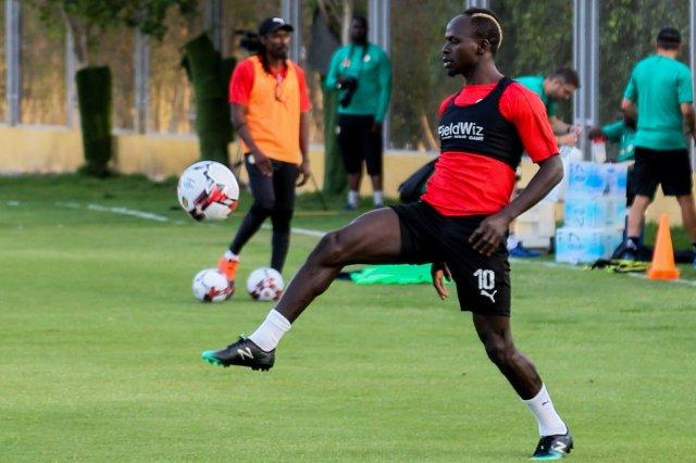 مجموعة الجزائر| بالصور.. السنغال يجري اول تدريباته في مصر 25