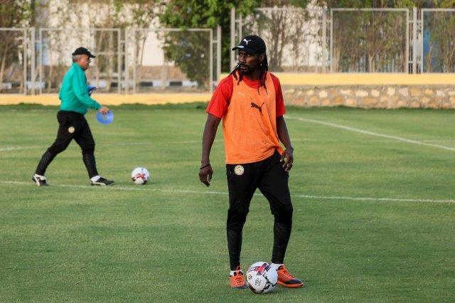 مجموعة الجزائر| بالصور.. السنغال يجري اول تدريباته في مصر 26