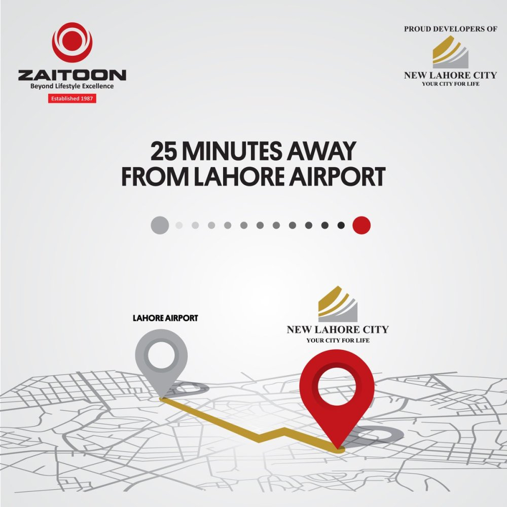 medium resolution of new lahore city is located at just a 25 minute drive from the airport is filled with all the luxuries life has to offer