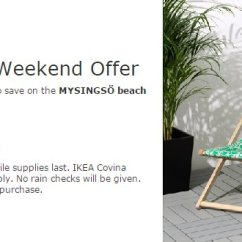 Ikea Beach Chair Comfortable Chairs For Bedroom Covina On Twitter Relax The In Style With Our 11 00 Am 28 May 2017