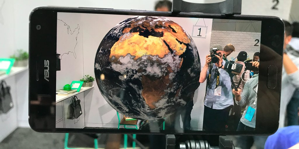 Google's augmented reality project is the coolest thing it showed off this week