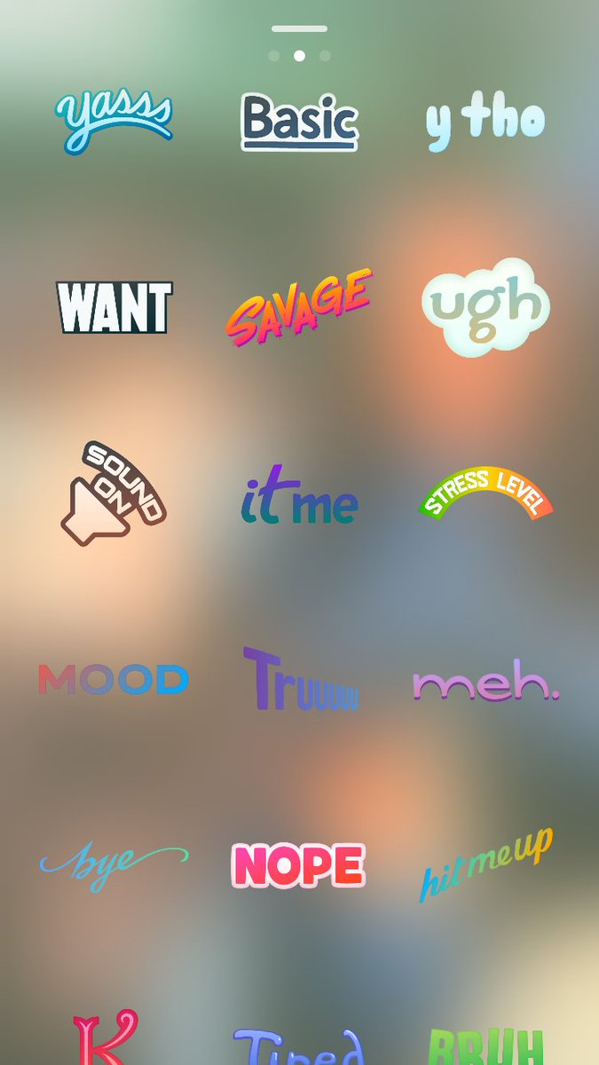 Mood Stickers Snapchat : stickers, snapchat, Ⓜ️axwell, Twitter:, Snapchat, Bad…