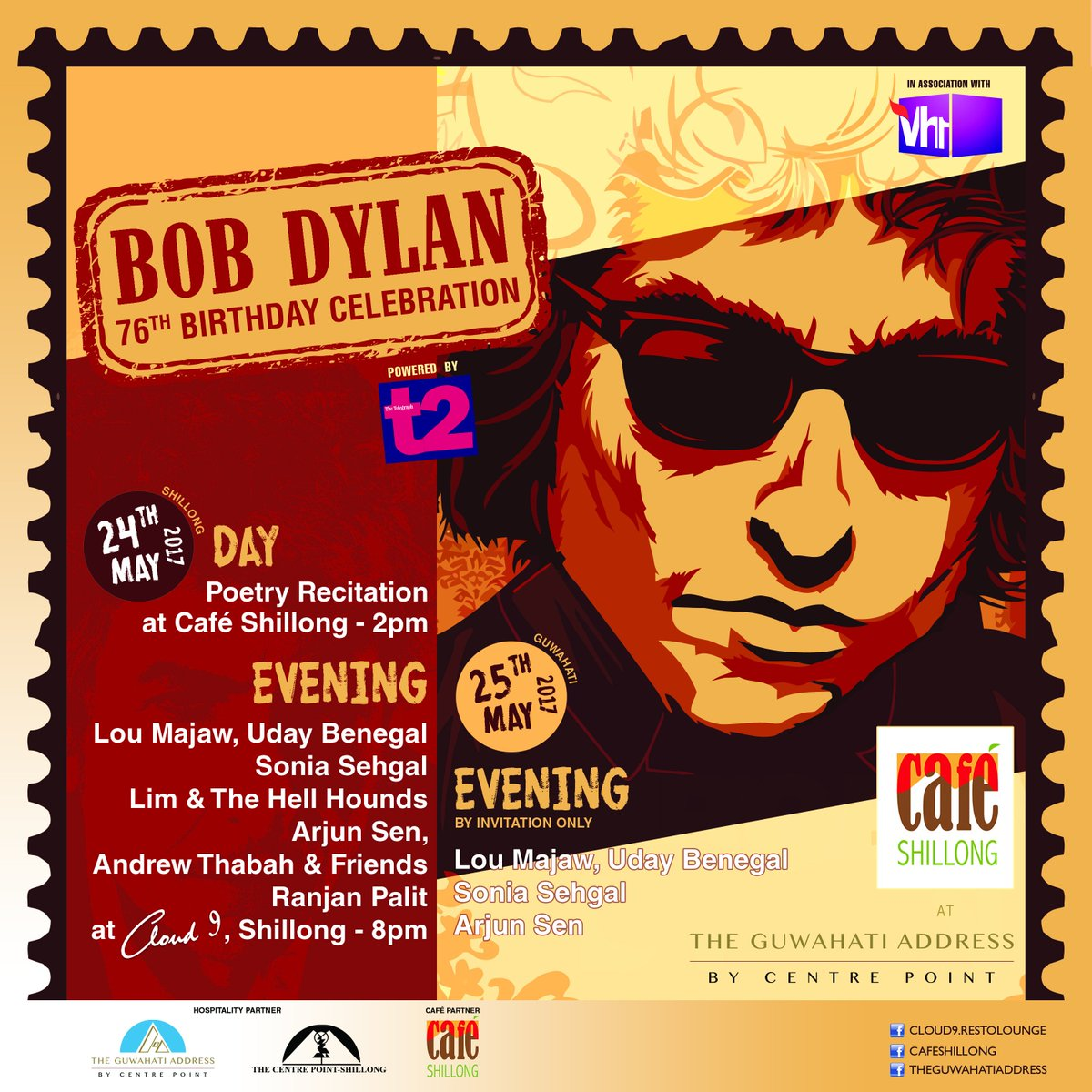 Vh1 India On Twitter Celebrate Bobdylan S 76th Birthday