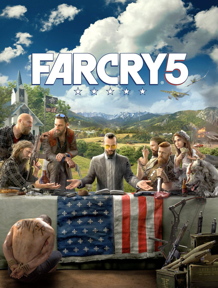 Far Cry 5 Artwork Unveiled