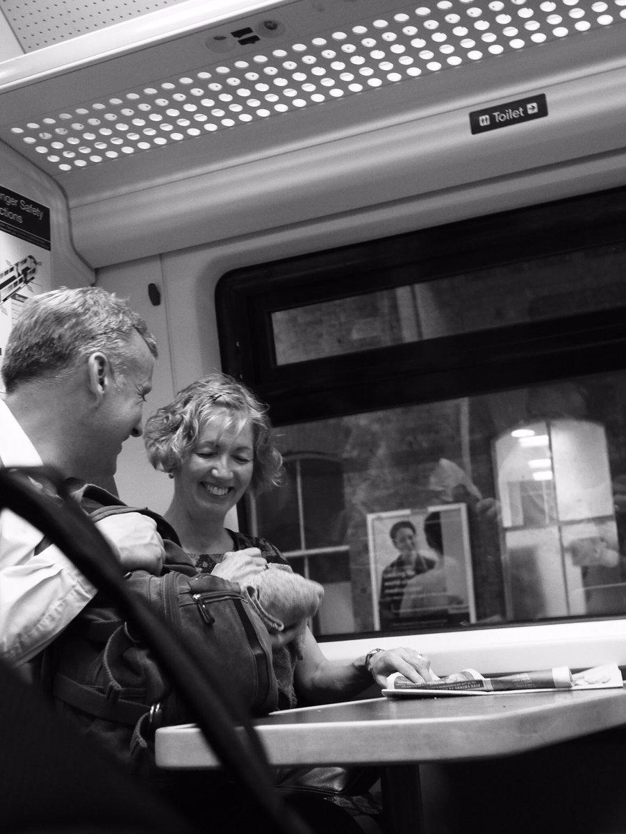 Jokes on a train