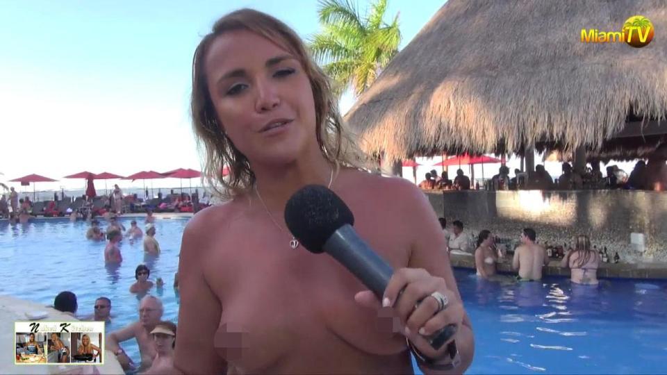 Stunning tv presenter jenny scordamaglia takes her naked