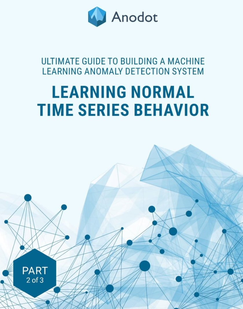 Learning Normal Time Series Behavior: Part 2. #BigData #MachineLearning #DataScience #AI