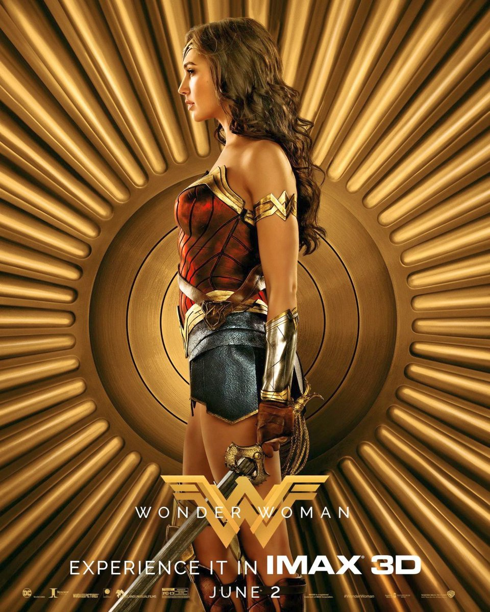 Wonder Woman IMAX Character Posters Featuring Warriors of Themyscira