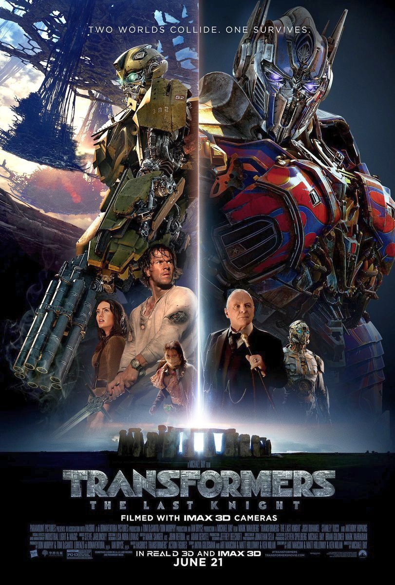 Final Transformers: The Last Knight International Trailer