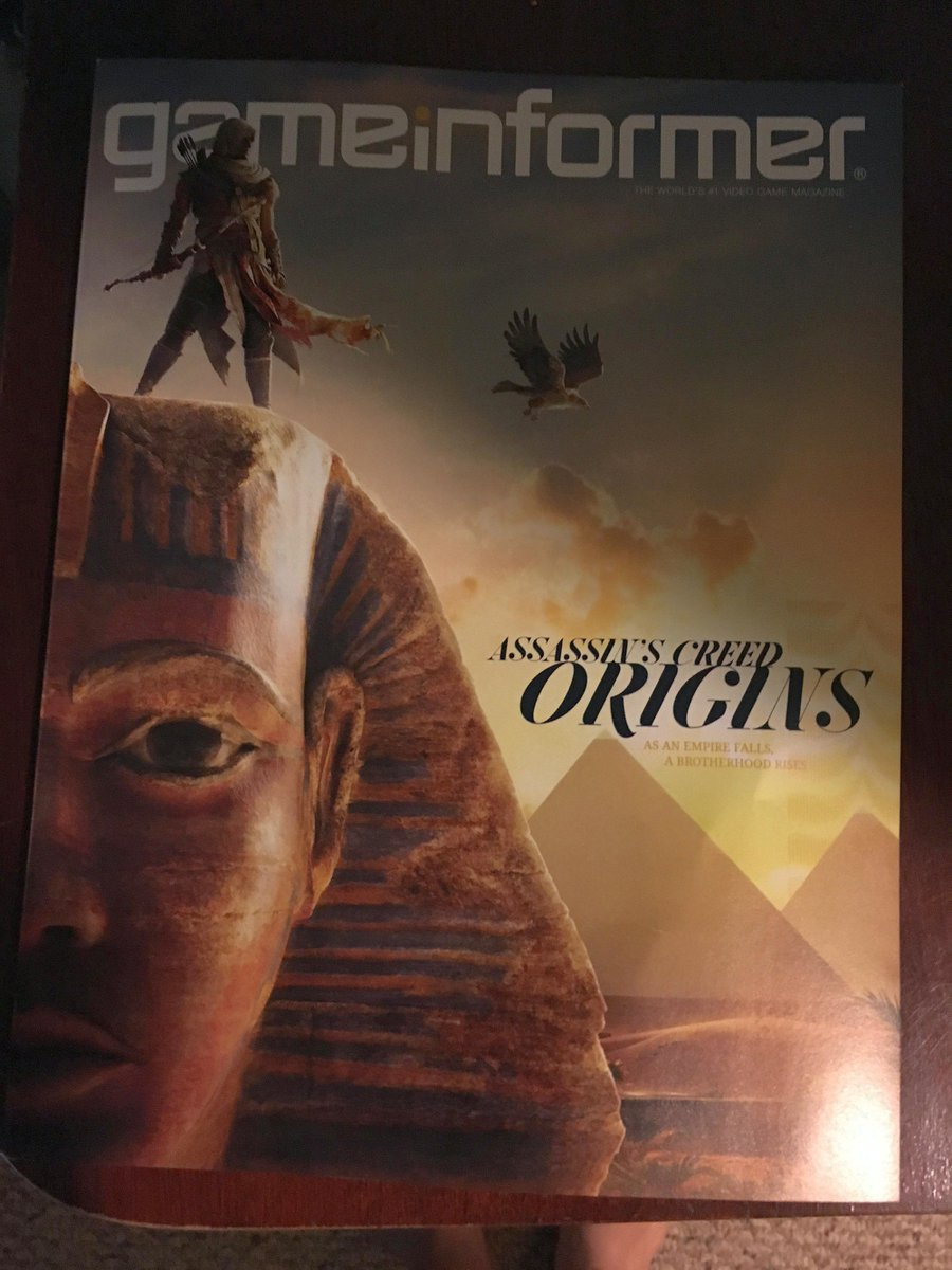 Assassin's Creed Origins Cover Art & New Details Leaked 5